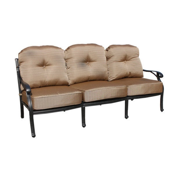 Die Cast Aluminum Sofa with Cushion