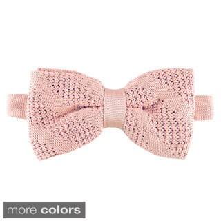 Elie Balleh Milano Italy Boys' Textured Bow Tie