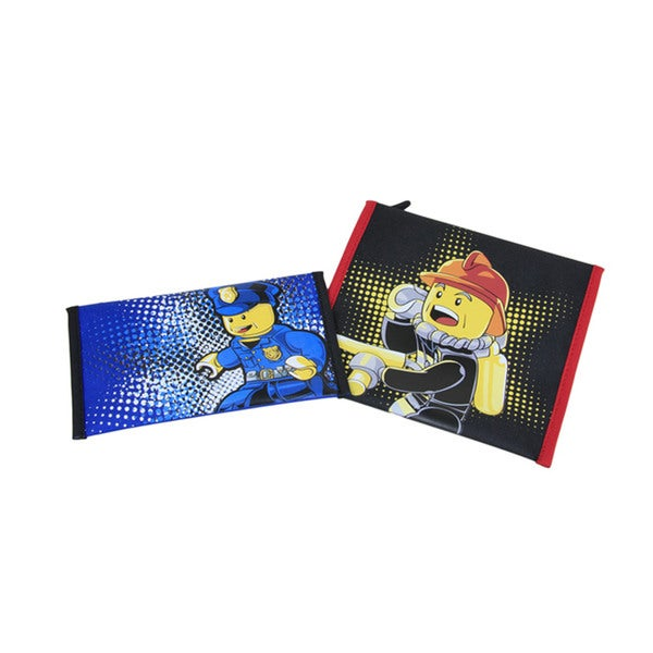 Lego City Police and Fire 2-piece Lunch Pocket Set