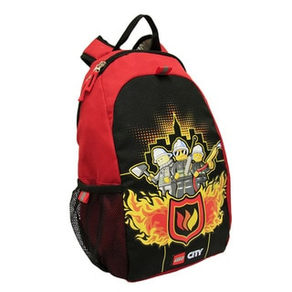 Lego City Fire To The Rescue Hertiage Basic Backpack