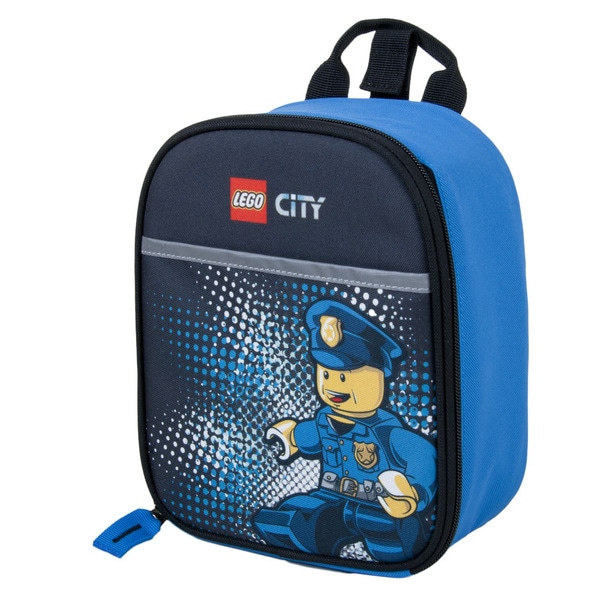 Lego City Police Chief Vertical Lunch Tote