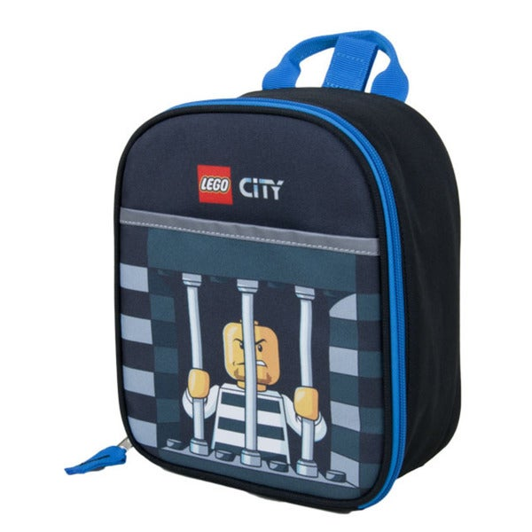 Lego City Police Crook Vertical Lunch Tote