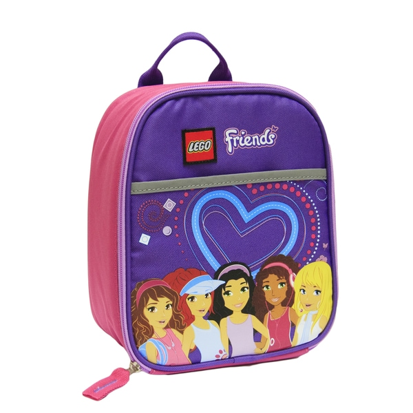 Lego Friends Heart Vertical Lunch Tote