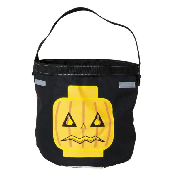 Lego Halloween Jack O' Lantern Tote Bag