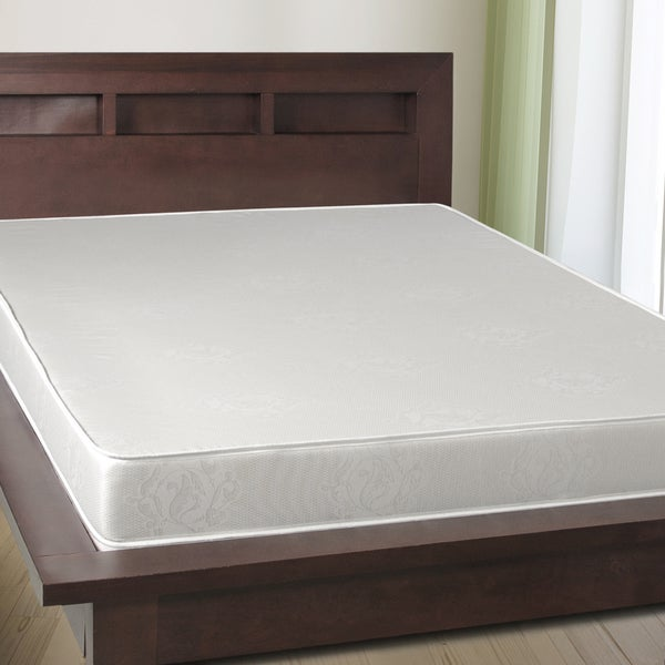Select Luxury 6-inch Full-size Airflow Reversible Foam Mattress