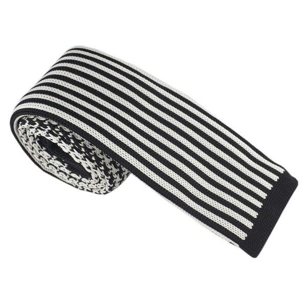 Elie Balleh Milano Italy Boys' Knit Stripe Neck Tie