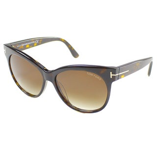 Tom Ford Women's TF 330 Saskia 56F Cat Eye Sunglasses