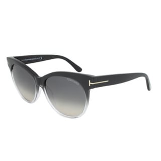 Tom Ford Womens TF 330 Saskia 05B Cat Eye Sunglasses