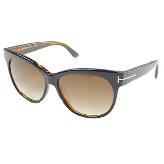 Tom Ford Womens TF 330 Saskia 03B Cat Eye Sunglasses