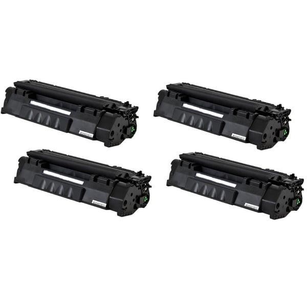 Replacing Q5949A 49A Black Laser Toner Cartridge for HP LaserJet 1160 1320 1320n 3390 3392 Printers (Pack of 4)
