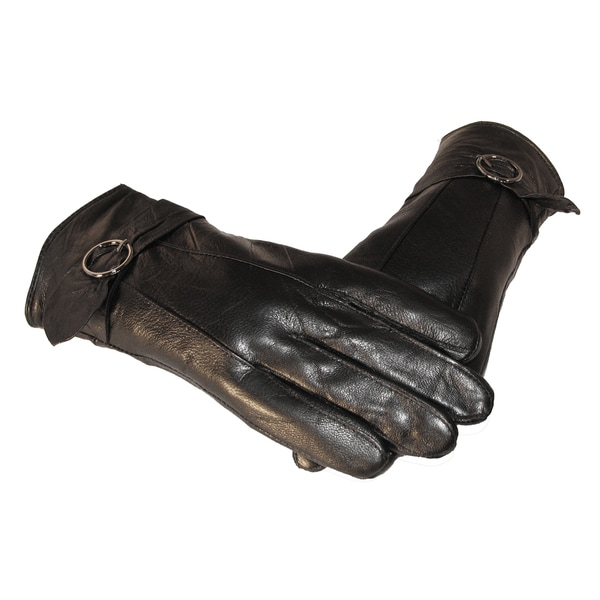 Lambskin Leather Belt Design Gloves