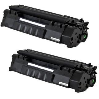 Q755A 53A Toner Cartridge for HP LaserJet M2727 MFP M2727NF P2010 P2014 P2015 P2015D P2015N P2015DN P2015X Printers (Pack of 2)
