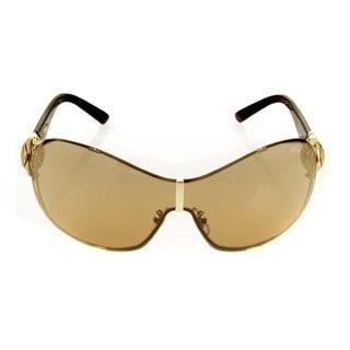 Chopard Lunettes De Soleil Rose Gold Brown Sunglasses