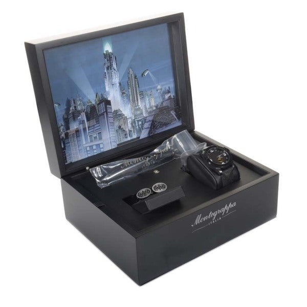 Montegrappa Batman Limited Fountain Pen F/ Watch/ Cufflinks Set