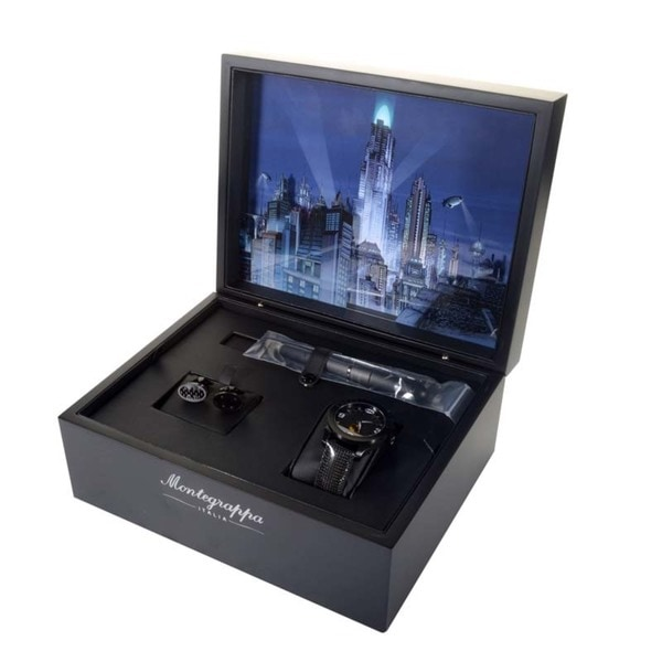 Montegrappa Batman Limited Roller Ball Pen/ Watch/ Cufflinks Set