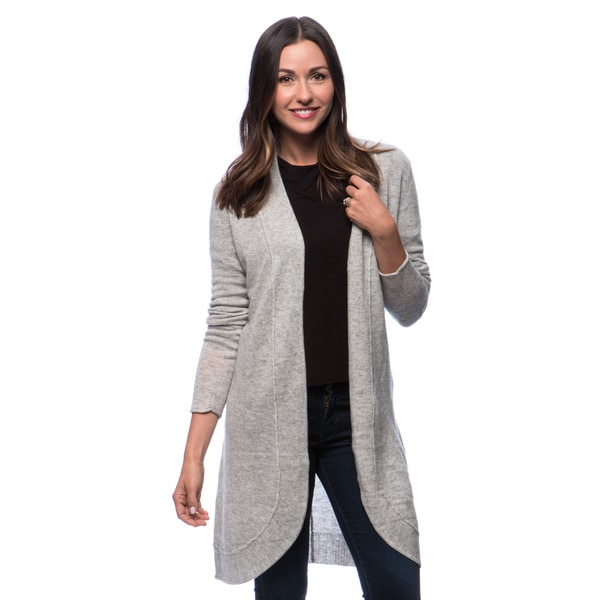 Premise Long Sleeve Open Front Duster