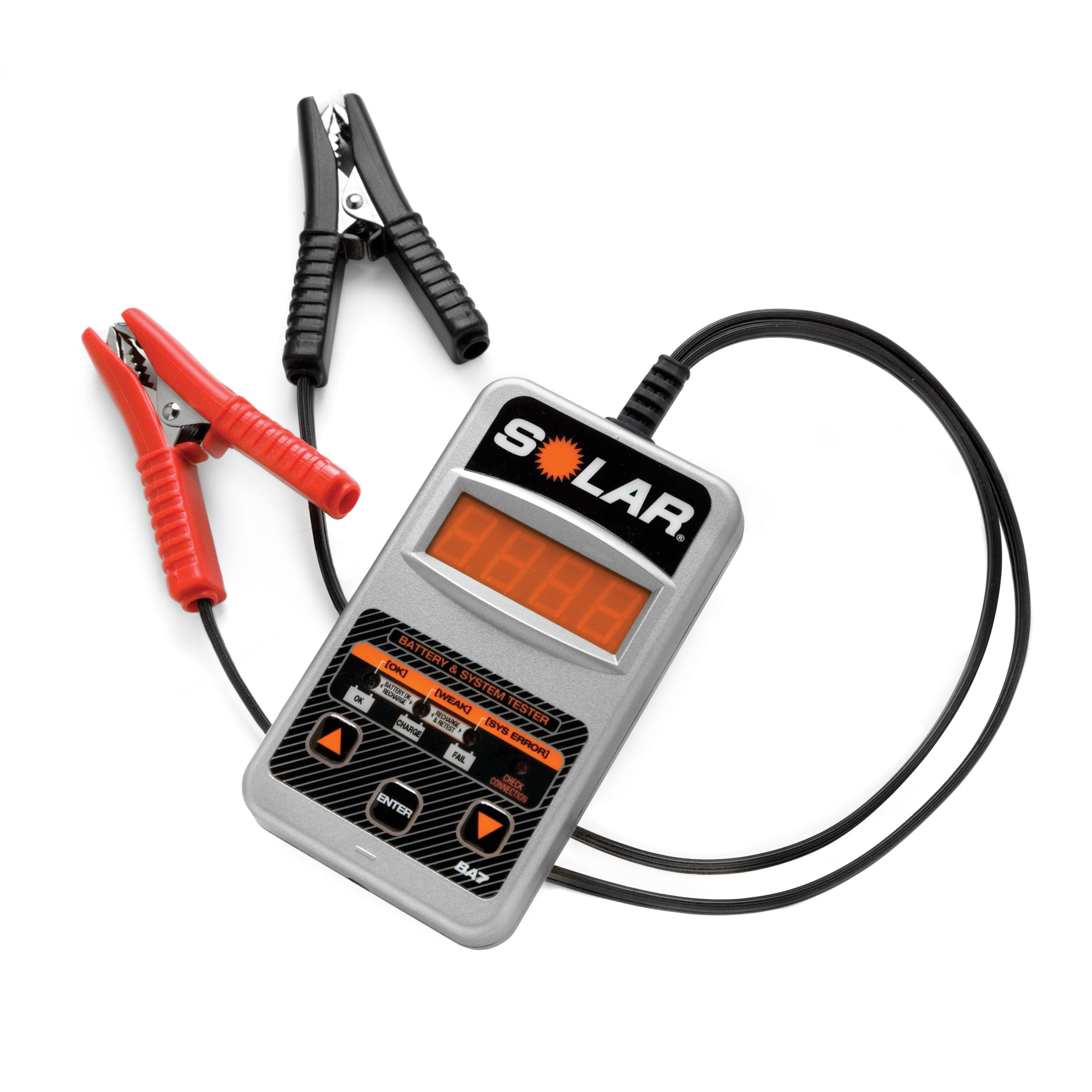 Overstock.com Solar BA7 100-1200 CCA Electronic Battery Tester