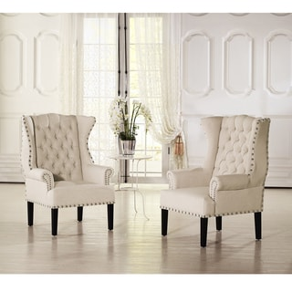 High Back Living Room Chairs Overstock