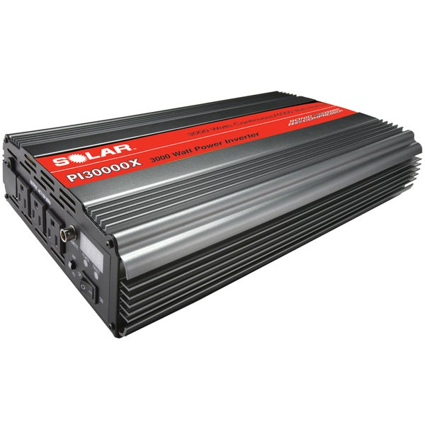 SOLAR 3000W Power Inverter with Triple Outlet plus Junction Block