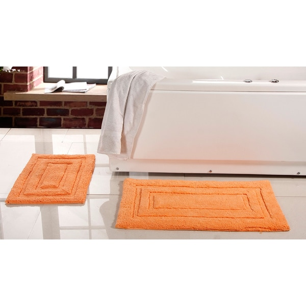 Elegance Spa Cotton 2-piece Bath Rug Set