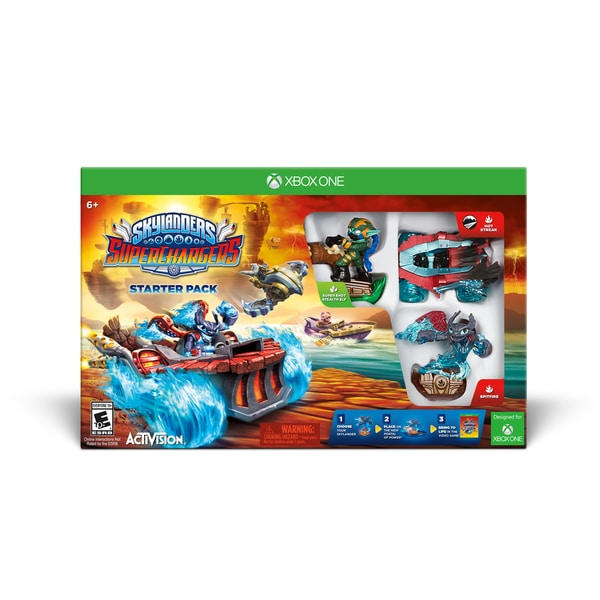 Xbox One - Skylanders Superchargers Starter Pack 15568520