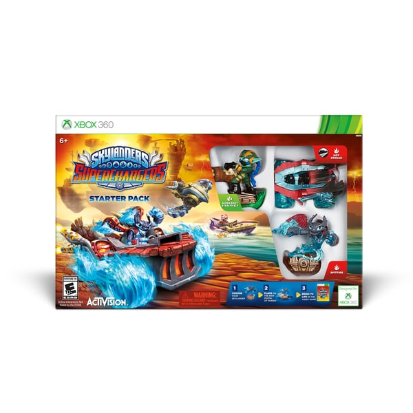 Xbox 360 - Skylanders Superchargers Starter Pack 15568521