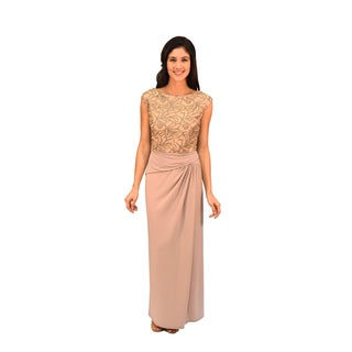 R&M Richards Women's Net Lace Dress