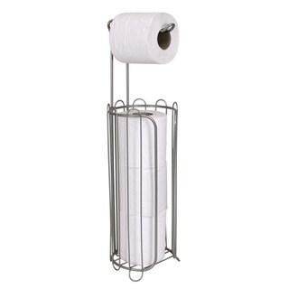 High Quality Satin Nickel Bath Tissue Dispenser and Reserve