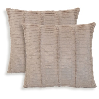Oracle Fur 20-inch Toss Pillow (Set of 2)