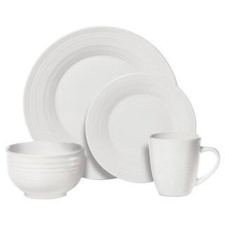 Pfaltzgraff Everyday Sierra White 16-piece Dinnerware Set