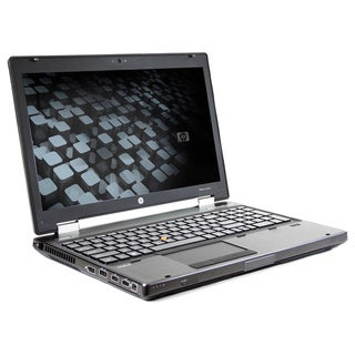 HP EliteBook 8560W 15.6-inch 2.6GHz Intel Core i5 4GB RAM 128GB SSD Windows 7 Laptop (Refurbished)