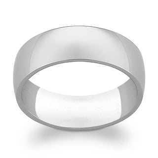 Titanium 7mm Wide Wedding Band