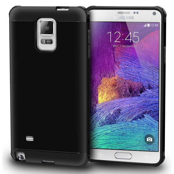 rooCASE Exec Tough Corner Protection Phone Case for Samsung Galaxy Note 4