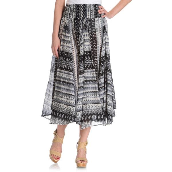 Chelsea & Theodore Women's Full Circle Skirt