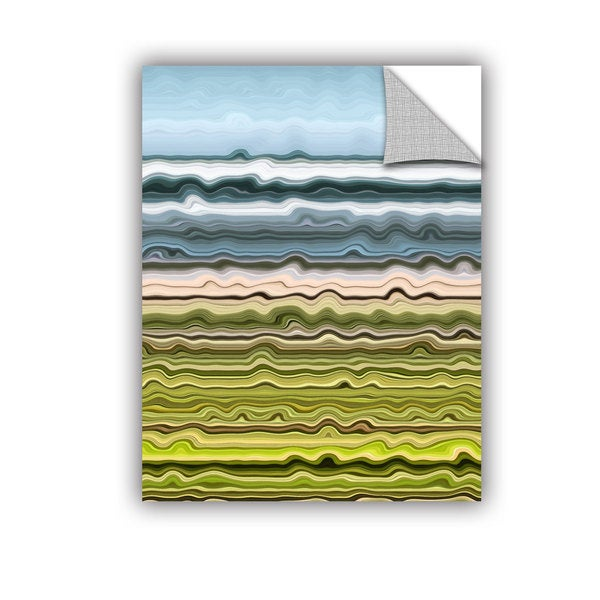 ArtWall Kevin Calkins ' Shoreline Abstract' Artappealz Removable Wall Art 15570756