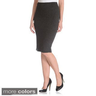 Chelsea & Theodore Women's Ponte Pencil Skirt