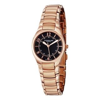 Stuhrling Original Women's Regalia Swiss Quartz Stainless Steel Bracelet Watch