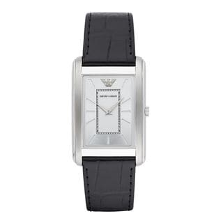 Emporio Armani Men's AR1869 Black Leather Watch