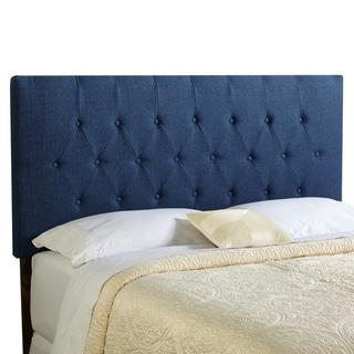 Humble + Haute Halifax River Blue Upholstered Diamond Tufted Headboard - Full Size