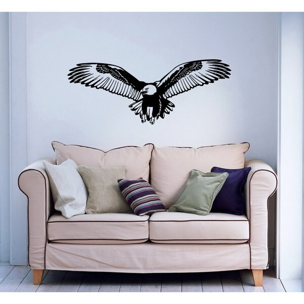 Eagle Vinyl Sticker Art