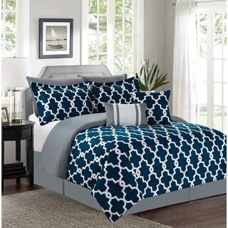Ryder Navy 7-piece Comforter Set