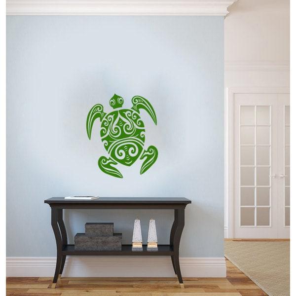 Sea Turtle Vinyl Sticker Wall Art 15571389
