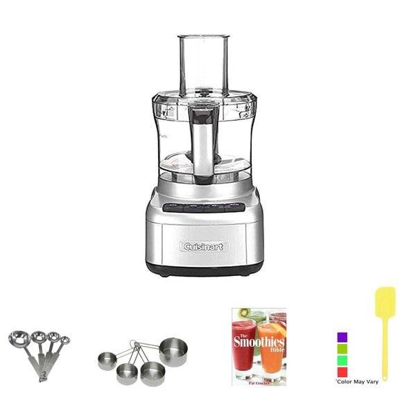 Cuisinart Elemental 8-Cup Food Processor (Silver) + Kitchen Accessory Kit