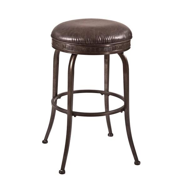 Hillsdale Furniture's Harper Backless Swivel Counter Stool