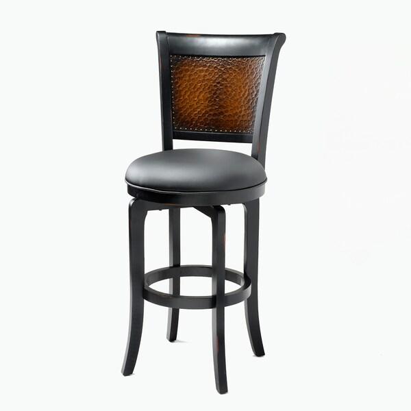 Hillsdale Furniture's Salerno Swivel Bar Stool