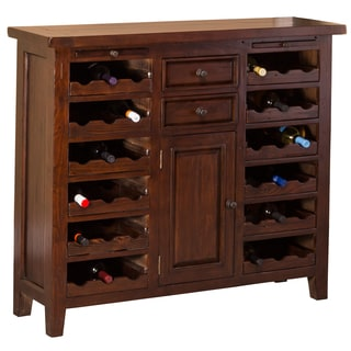 Hillsdale Furniture's Tuscan Retreat Wine Console/Storage Unit