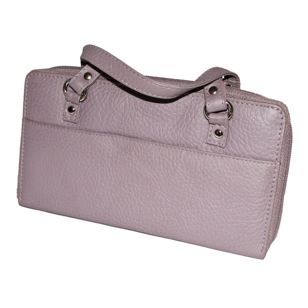 Continental Leather Women's Clutch Wallet