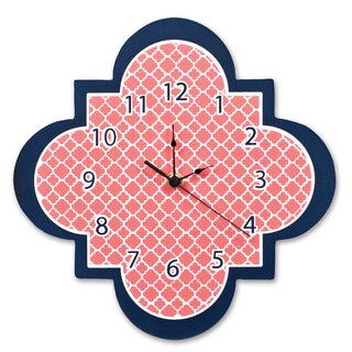 Trend Lab Multi Quatrefoil Wall Clock