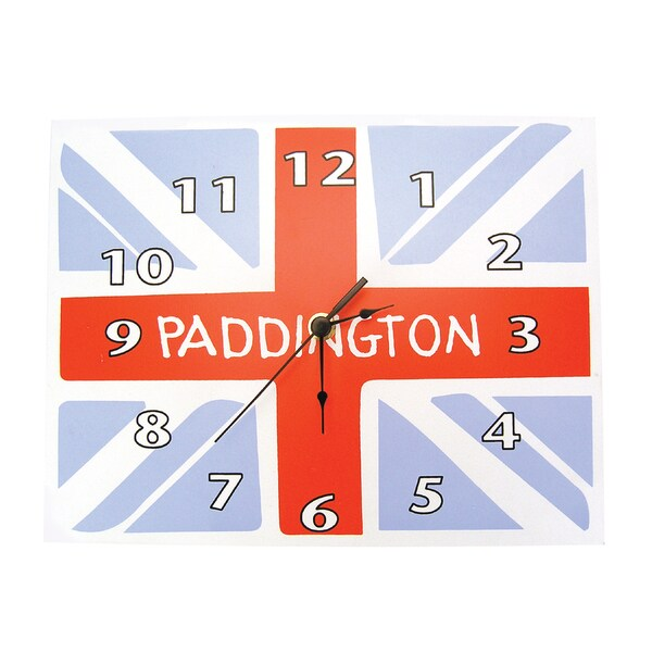Trend Lab Paddington Bear Union Jack Wall Clock
