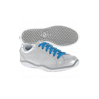 FootJoy Women's LoPro Casual Collection Silver/ White Golf Shoes